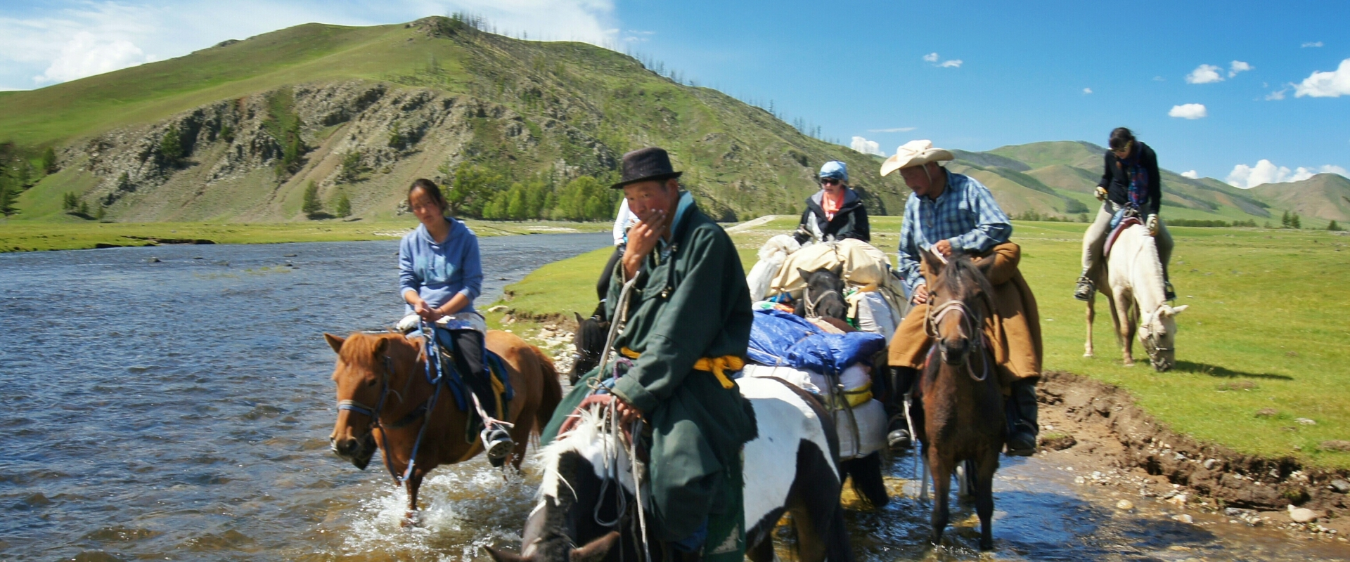 Explore Arkhangai on horseback with experienced guides